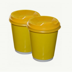 Стакан двошаровий Yellow