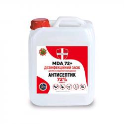 Антисептик MDA 72+ 5л каністра
