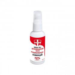 Антисептик MDA 72+ 60мл спрей